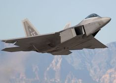F-22 Raptor Taking Over the Mantle of the F-15 Eagle