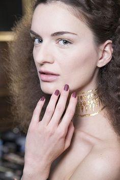 Matte Texture Nails at L'Wren Scott London Fashion Week