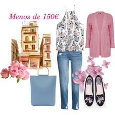 Vestida por menos de 150€ by ulstblog on Polyvore featuring moda, Boohoo, H&M, WithChic and Topshop