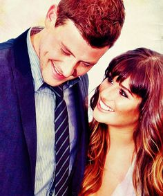 best love.  Cory Monteith and Lea Michele.