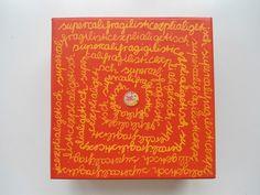 Was macht mehr gute Laune als supercalifragilisticexplialigetisch?!!!!  Und dann noch in JuliSonne Farben Orange, Rot und Gelb? Auf das die Juli-...