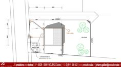 JG Dessin Architectural - Plan-Masse pour Permis de construire d'une maison passive à CAMPHIN EN CAREMBAULT (59133)