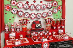 Amazing Ladybug Party #ladybugparty