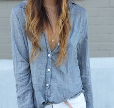 Casual button downs.