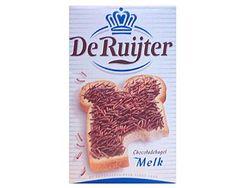 DeRuijter Chocolate Sprinkles (Milk/Melk) Nov. Exp. date
