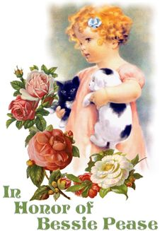 This is in honor of Bessie Pease Gutmann and is dedicated to her in thanksgiving for her love of childhood innocence and purity.  You can click this image and there are a list of her works.  Click the image and the picture will appear.