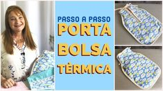 Porta bolsa térmica fácil | PASSO A PASSO Beach Mat, Outdoor Blanket, Youtube, Carrier Bag Holder, Heat Pack, Step By Step, Shabby Chic