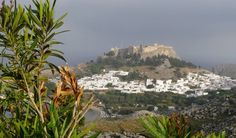 Lindos Greece Islands, Rhodes, Mountains, Water, Travel, Outdoor, Cute, Gripe Water, Outdoors