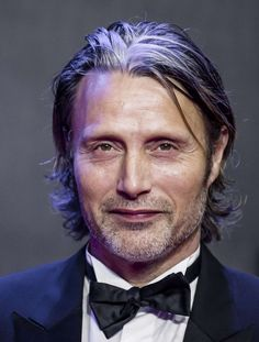 Mads Mikkelsen...one more in a tux. Star Wars: The Force Awakens , London premiere Dec. 16, 2016