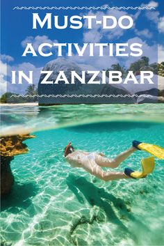 All of these activities are going on our #Zanzibar #itinerary...snorkelling, kayaking, fishing - yes, please!