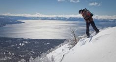 List of things to do: snowboard at Lake Tahoe