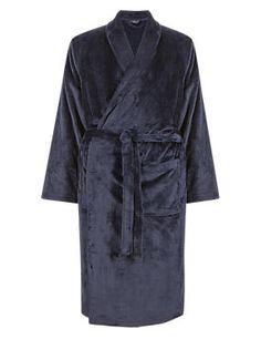 Dark Grey Premium Fleece Gown