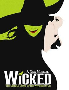 In my opinion, best modern broadway show (modern as in from 2000's and on) out there. Wicked is the story about the wicked witch of the west's life before we meet her in The Wizard of Oz. This musical has catchy tunes, great costumes/set, and a great story. Definitely worth the expensive tickets.