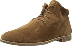 Paul Green Women's Kai Oxford Camel Suede Oxford. Finish off a tailored or laid-back look with these versatile Paul Green™ chukka-inspired shoes. Upper made of suede leather. Four-eyelet lace construction. Plain round toe. Leather-lined with padded leather footbed. Rubber heel and sole. Made in Austria. Measurements: Heel Height: 1⁄2 in Weight: 11 oz Shaft: 4 in Platform Height: 1⁄4 in Product measurements were taken using size AT 5.5 (US Women's 8), width M. Please note that measurements...