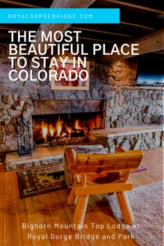 When you reserve the Bighorn Mountain Top Lodge at the Royal Gorge Bridge & Park for your Colorado adventure you'll experience not only one of the most beautiful regions in the state but one of the most beautiful places to stay in Colorado. #colorado #travel #adventure Beautiful Scenery, Beautiful Places, Most Beautiful, Royal Gorge, Visit Colorado, Lodges, Bridge, Mountain, Adventure