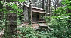 Hocking Hills Cabins - Frontier Log Cabins Rentals Our destination for our 10 yr anniversary!