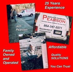 Quality affordable solutions that you can trust. (864) 347-5571 $65.00 Diagnostic on service calls. Free estimates on replacing existing units or installing new units.   www.pearsonheatingandair.com #heating #hvac #ac #heatpump #furnace #gaspack #repair #service #installations #valentine #serviceagreements #tuneup #duct #ductwork #spartanburg  #greenville #upstatesc #simpsonville