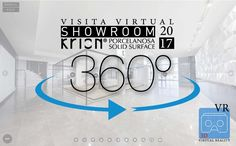 Visita Virtual 360º Showroom KRION® 2017  - Solid Surface