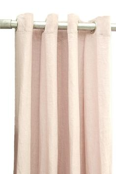 Linen ready-made curtain in a beautiful blush very light old blush pink color. The curtain has metal rings for hanging on a rod. Have Metal, Linen Curtains, Pink Color, Blush Pink, Bloom, Vintage Linen, Extensions, Nude, Home Decor