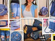 DIY 11 Ideas fantásticas para transformar Jeans Ideas, Fashion, Fuzzy Slippers, Clothes, Modeling, Molde, Tela, Denim Bag, Designer Handbags