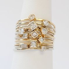 An all-diamond stack is a beautiful thing.