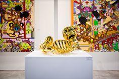 Keiichi Tanaami sculpture