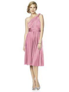 Twist Wrap Dress : Short http://www.dessy.com/accessories/maracaine-jersey-twist-dress-short/