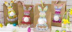 Little Easter presents Source by omegastra Ester Crafts, Easter Presents, Bunny Birthday, Valentines, Diy Crafts, Spring, Party, Gifts, Easter Ideas