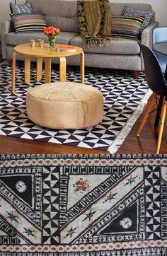 fijian tapa incorporated in modern design