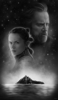 Master and Apprentice Star Wars Luke Skywalker and Rey Art Print Star Wars Luke Skywalker, Star Wars Gifts, A New Hope, Last Jedi, For Stars, Rogues, Harry Potter, Nerd, Geek Stuff