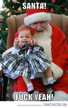 Funny pictures about Yeah Santa. Oh, and cool pics about Yeah Santa. Also, Yeah Santa. Tartan Christmas, Christmas Love, Christmas Photos, Funny Christmas, Santa Pictures, Funny Pictures, Funny Pics, Funny Quotes, Merry Christmas Everybody