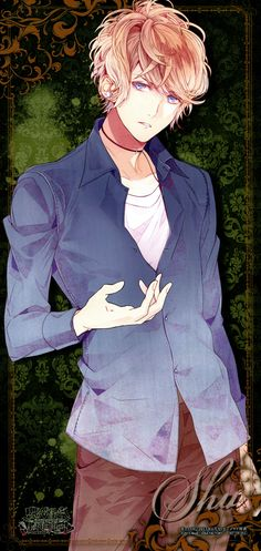 Tags: Scan, Stick Poster, Official Art, Satoi, Diabolik Lovers ~Haunted dark bridal~, Sakamaki Shuu