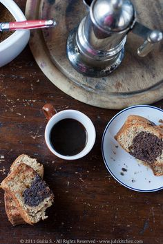 Journey Kitchen: The Italian Breakfast, Spelt Flour and Cocoa Ring Cake - Guest Post by Giulia of Juls Kitchen Italian Breakfast, Breakfast Cake, Indian Food Recipes, Vegetarian Recipes, Traditional Indian Food, Ring Cake, Spelt Flour, Recipe Boards, Cookie Desserts