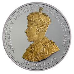 First World War Battlefront: The Second Battle of Ypres - 1 oz. Second Battle Of Ypres, Gold And Silver Coins, Rock Lee, Man Caves, World Coins, Us Coins, Prince Harry, First World, World War