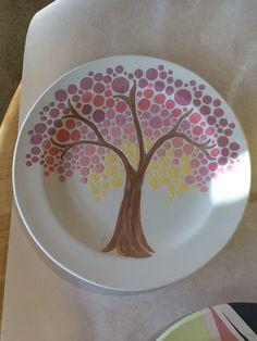Color Me Mine  Fall plate