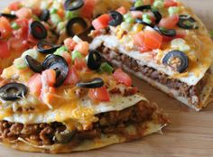 Mexican Pizza Recipe Yield: 2 Mexican Pizzas Prep time: 20 min   Cook time: 25 min