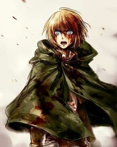 """""""Can you stop being so cute Armin????"""" No, he can't :D"""