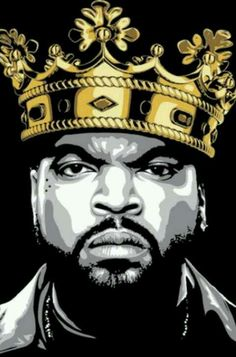 """real-hiphophead: """" Ice Cube, the real King Of The West """""""