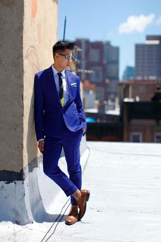 How To Wear Bright Colored Suits For Men Brighter...   Closet Freaks   Menswear & Personal Style