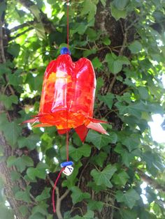 Petflaschen Glocken oder Blumen für draussen