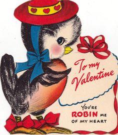 Vintage Valentines Day Card 035