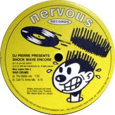 DJ Pierre - War Drums / Wonderful