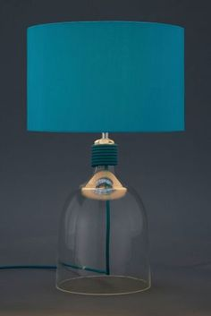 Marina Glass Table Lamp from Next