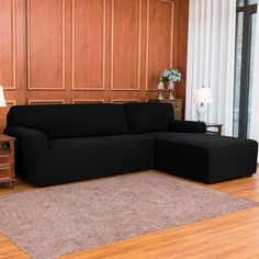 We use high-quality materials which have great elasticity, covering the sofa better. Not only protect your sofa from the daily tear, spills, and stains but also is a home artist to transform an old, worn-out couch into the stunning centerpiece of your room. It is a great choice for homes with children and pets. Sectional Couch Cover, Couch Covers, Couches, Armchair Slipcover, Cushions On Sofa, Sofa Slipcovers, L Shaped Couch, Home Decor Shops, Fabric Sofa