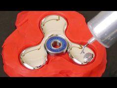DIY Gallium Fidget Spinner - YouTube