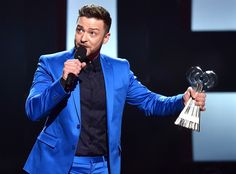 Justin Timberlake Thanks ''Best Friend'' Jessica Biel During iHeartRadio Speech: ''I Can't Wait to See Our Greatest Creation''