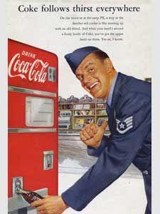 vintage Coca Cola Pilot