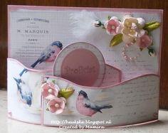 Bendi Fold Card - a beautiful idea! http://heukske.blogspot.nl/