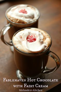hot chocolate is the perfect homemade winter drink. My mom made hot ...
