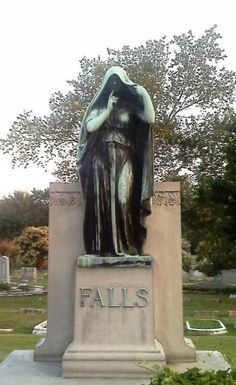 Marker- Falls at the Elmwood Cemetery, Memphis TN. http://www.thefuneralsource.org/cemtn.html